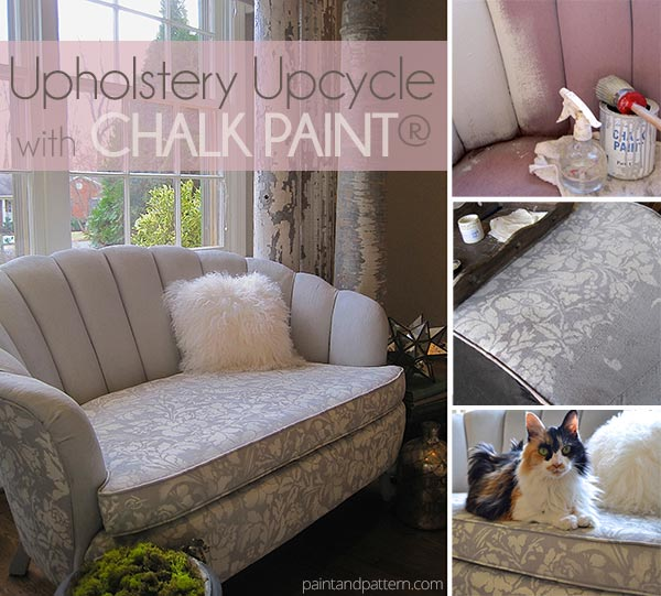Upholstery Chalk Paint